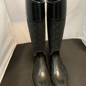 Gucci Rain Boots 9.5